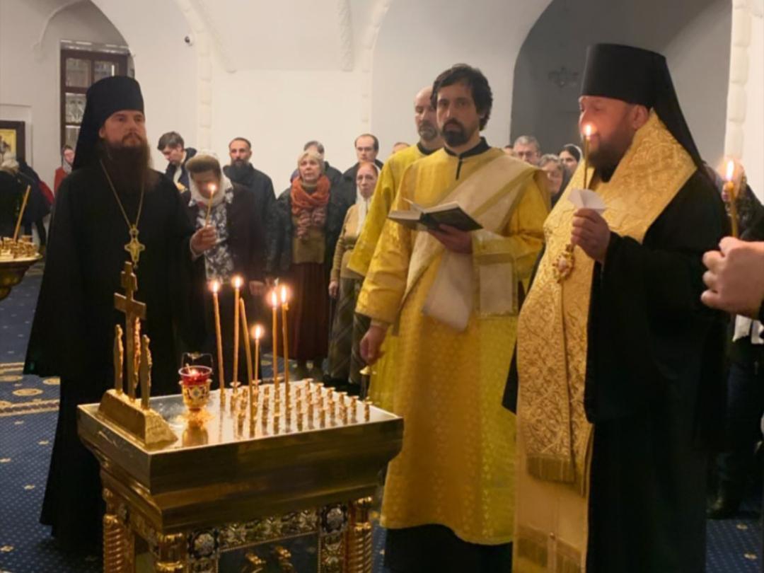 Бденије уочи празника Светог Јована Богослова на РПУ