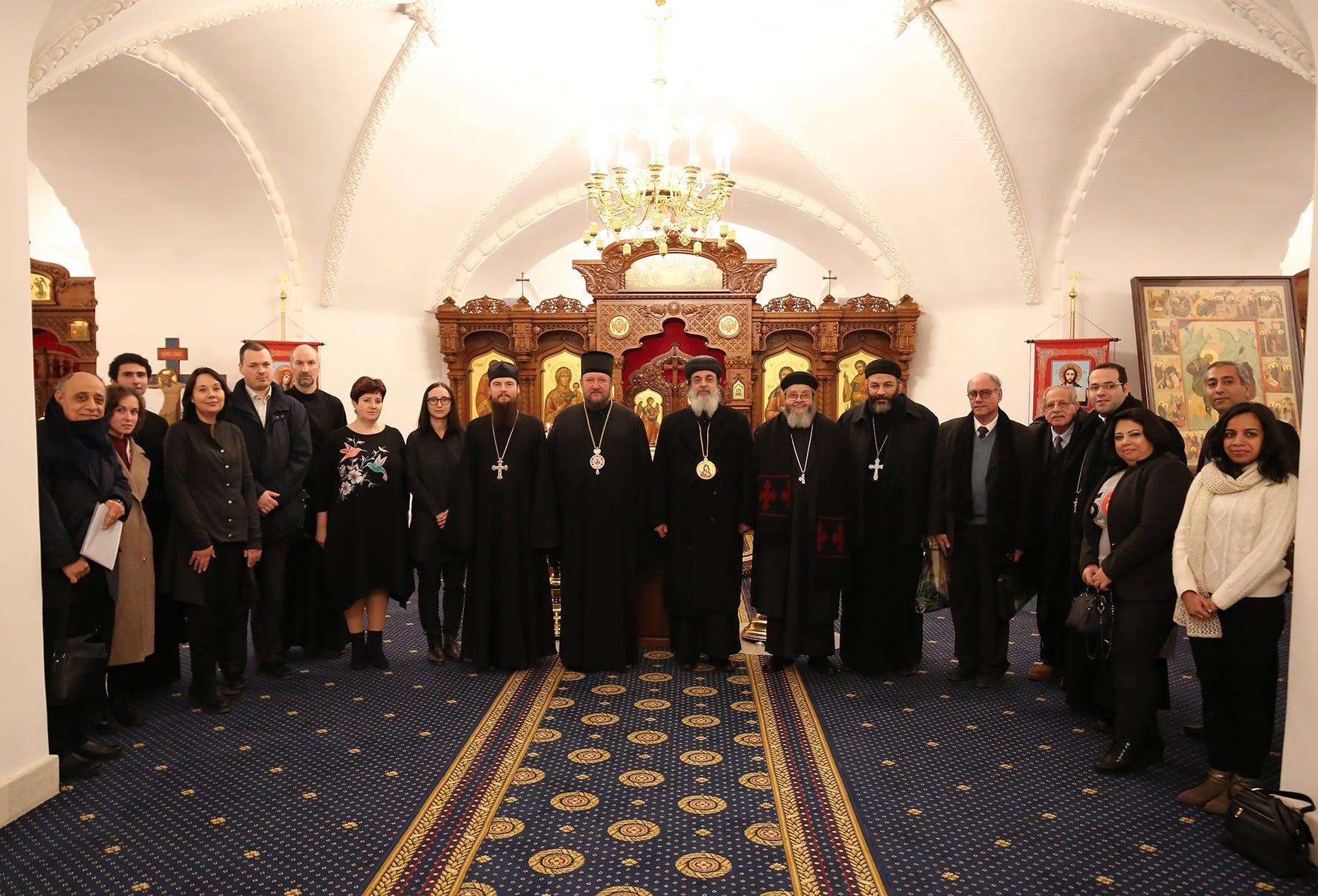 Сарадња Руског православног универзитета са коптским центрима образовања у Египту