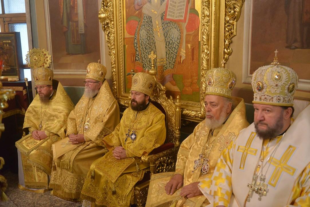 Света архијерејска Литургија поводом 20. годишњице постојања Чешког подворја у Москви