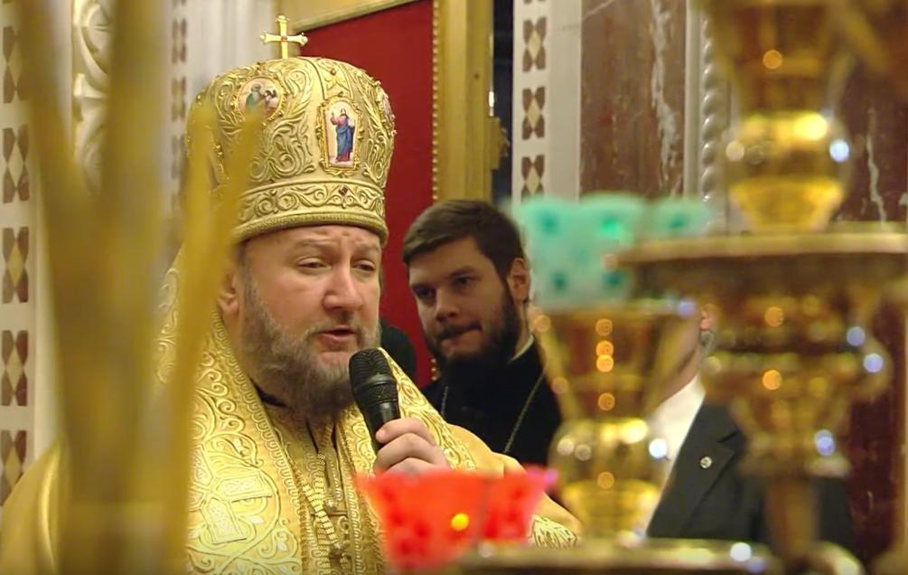 Патријарашка Литургија у Храму Христа Спаситеља у Москви