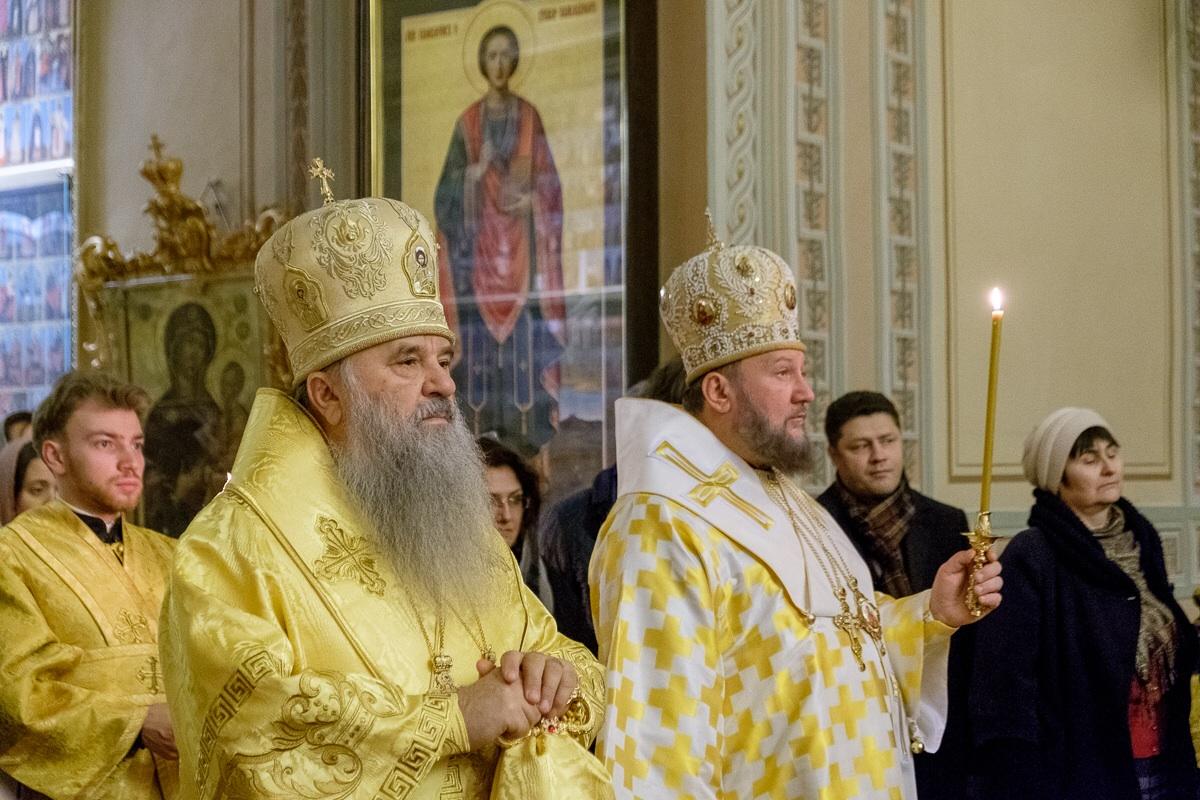 Бденије у суботу 23. новембра у Самсонијевском собору у Санкт Петербургу