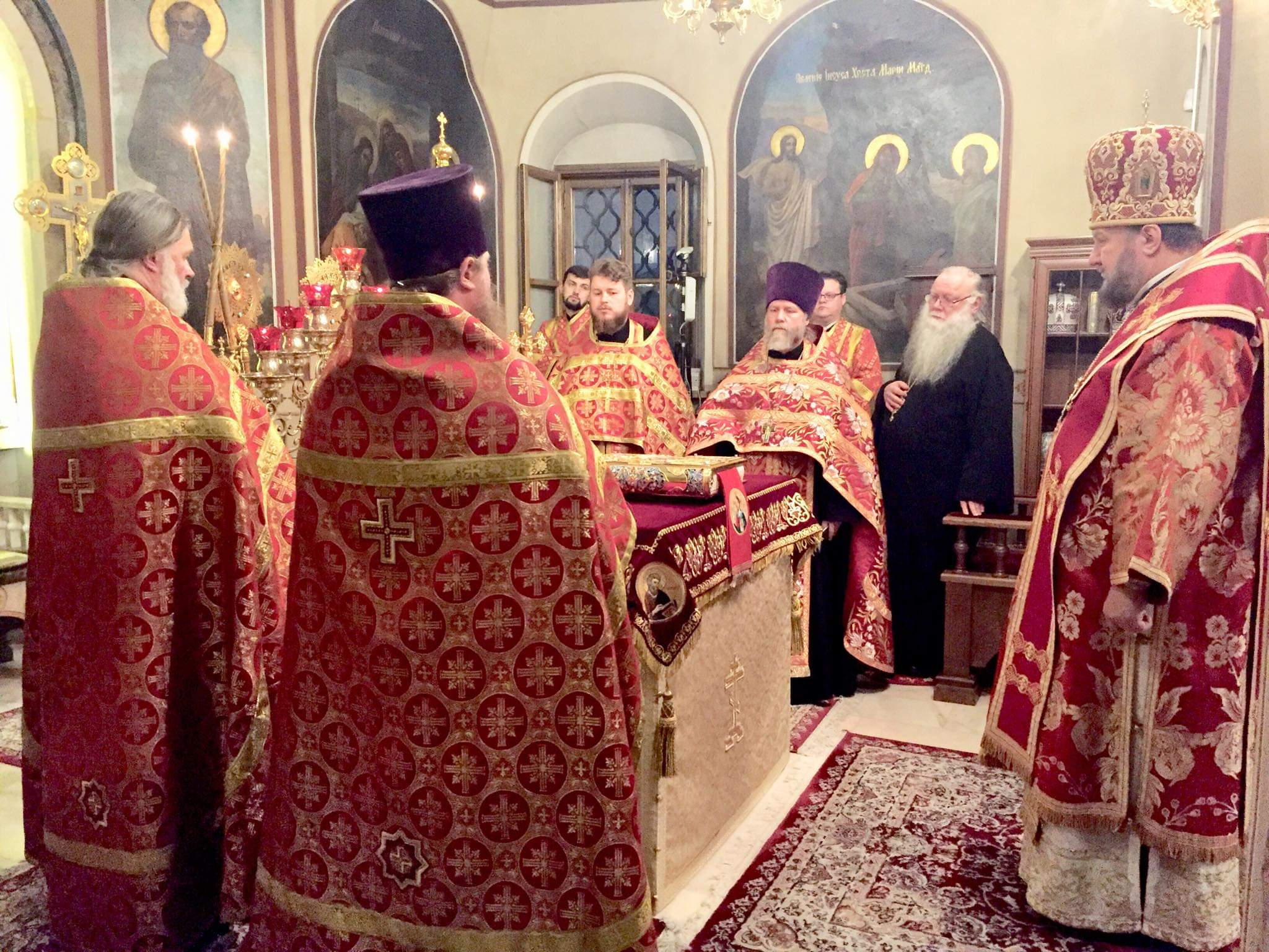 Бденије на навечерје празника Светог великомученика Димитрија Солунског