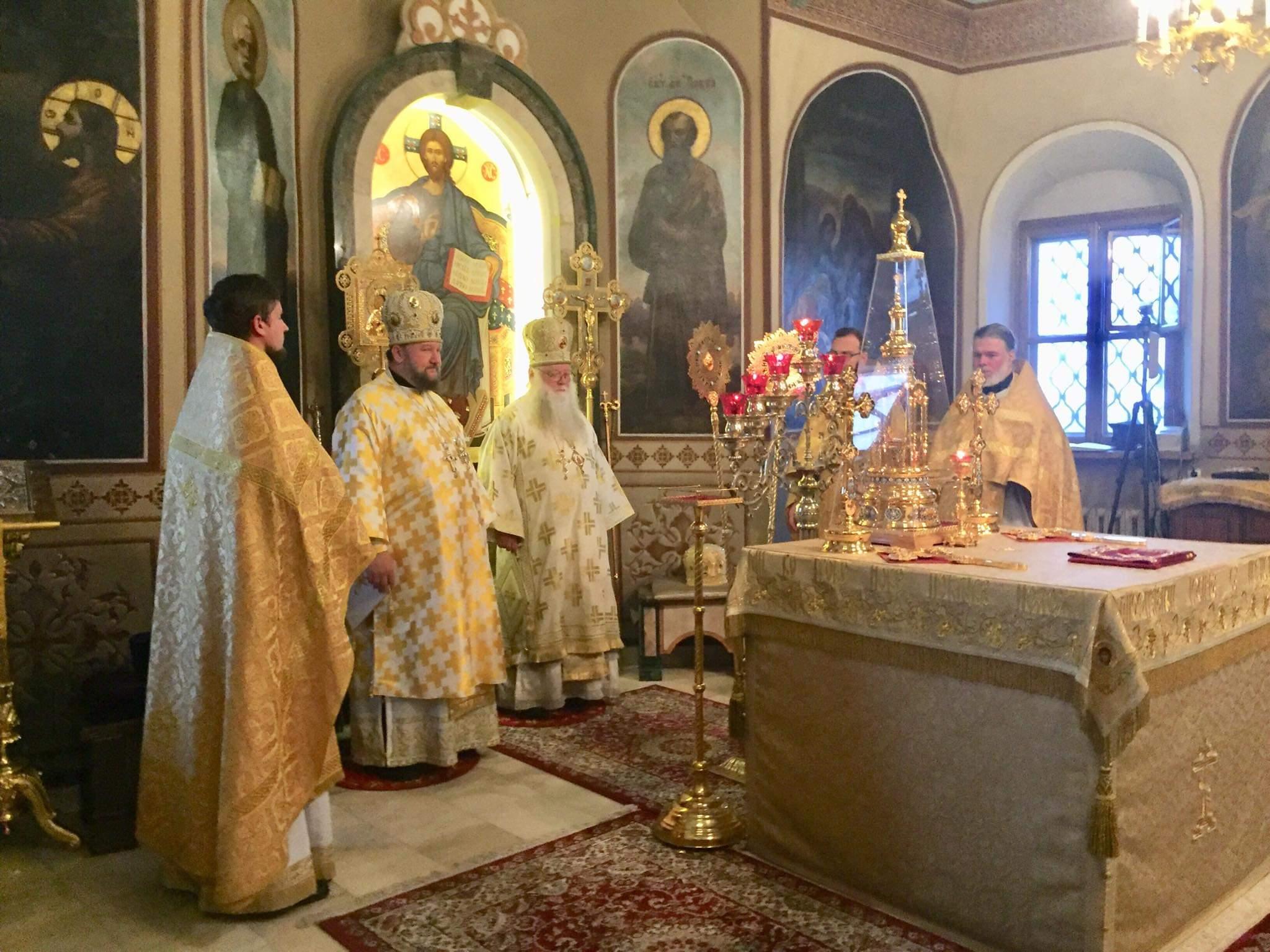 Света Литургија у Двадесету недељу по Педесетници