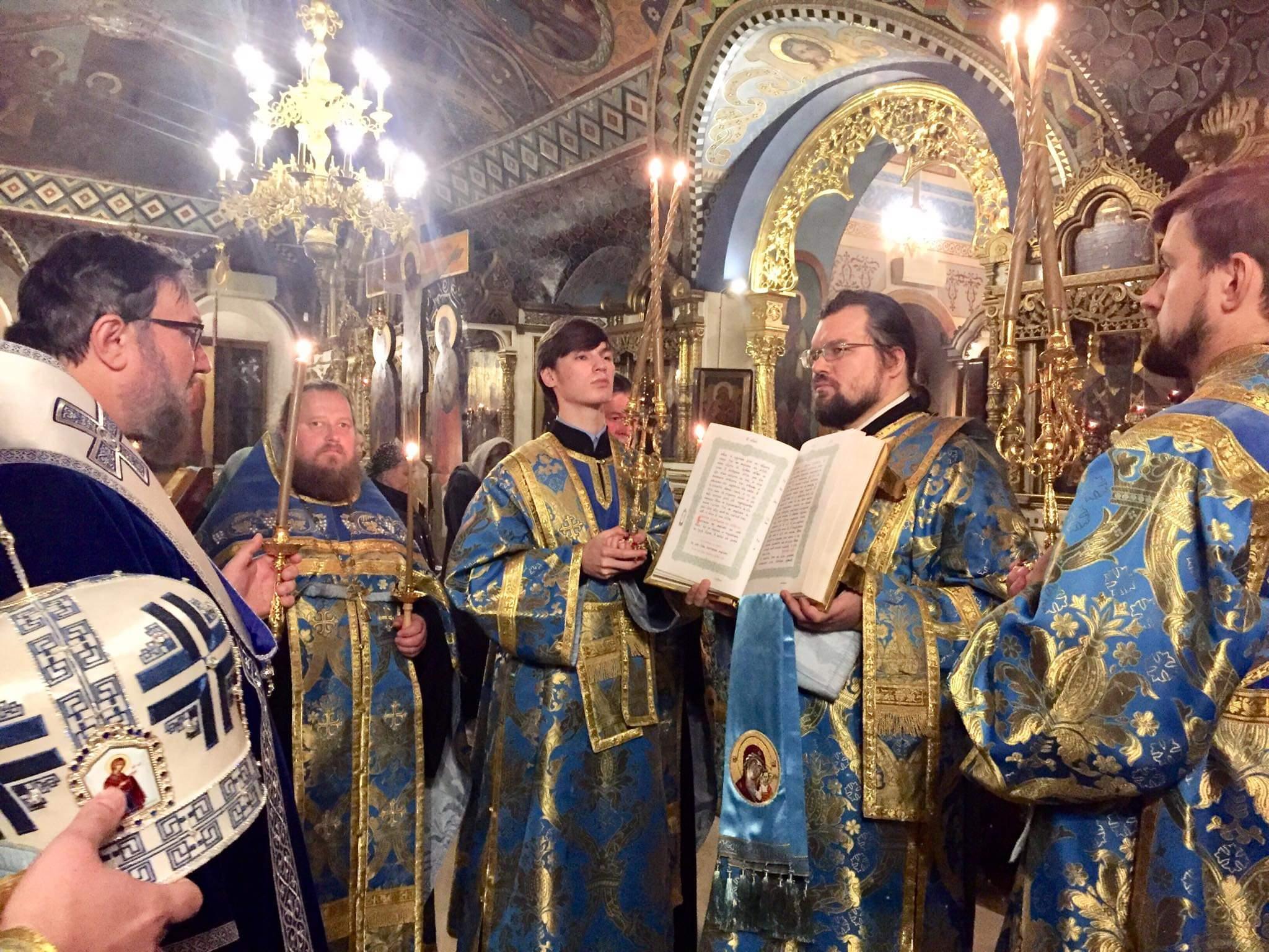 Бденије на навечерје празника Казанске иконе Пресвете Богородице