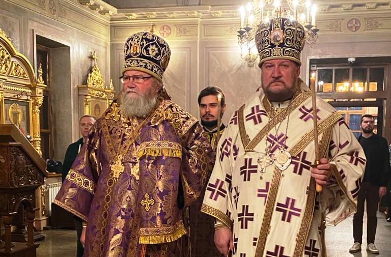 Бденије на подворју Православне цркве чешких земаља и Словачке у Москви
