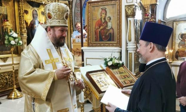 Епископ моравички Антоније удостојен високих награда Руске православне цркве и Руске Федерације
