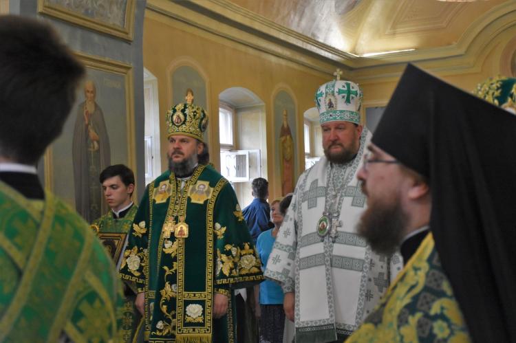 Епископ моравички Антоније богослужио на Подворју Православне цркве у Америци