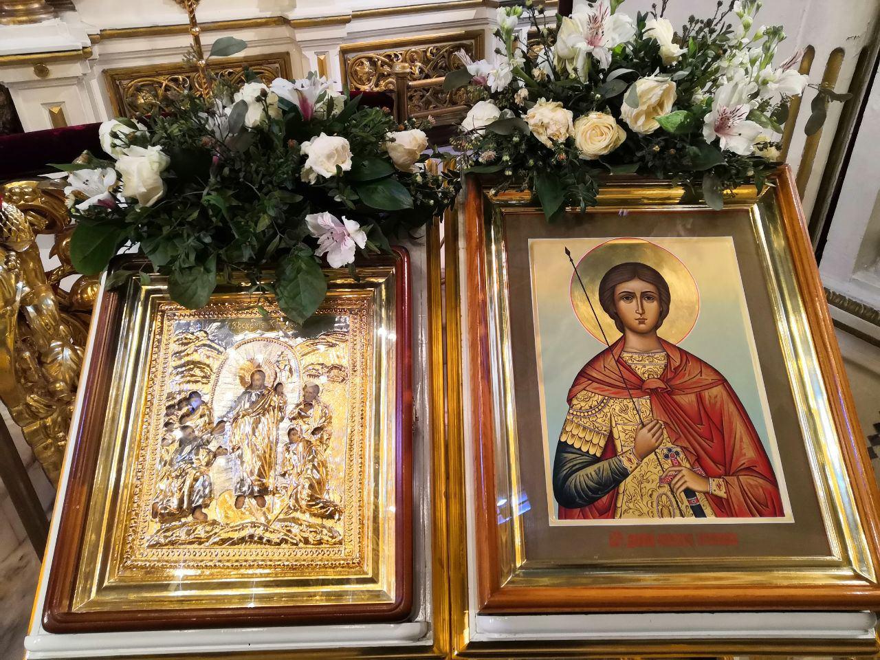 Празник Светог Димитрија Солунског свечано обележен на Подворју СПЦ у Москви