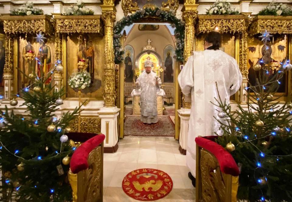 Празнично бденије на навечерје тридесет прве Недеље по Педесетници