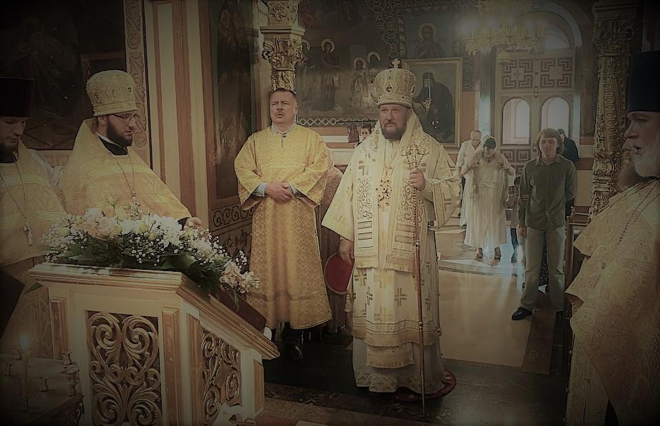 Бденије на навечерје Треће недеље по Педесетници у Подворју СПЦ у Москви