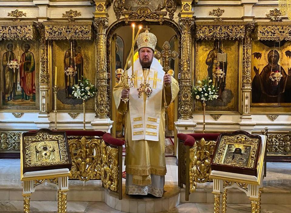 Честитка Свјатјејшег Патријарха Кирила Епископу моравичком Антонију поводом 15-годишњице епископске хиротоније