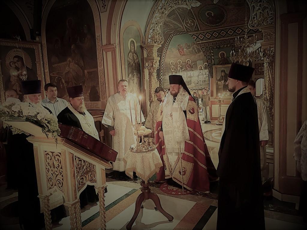 Празнично бденије на навечерје празника Преображења Господњег