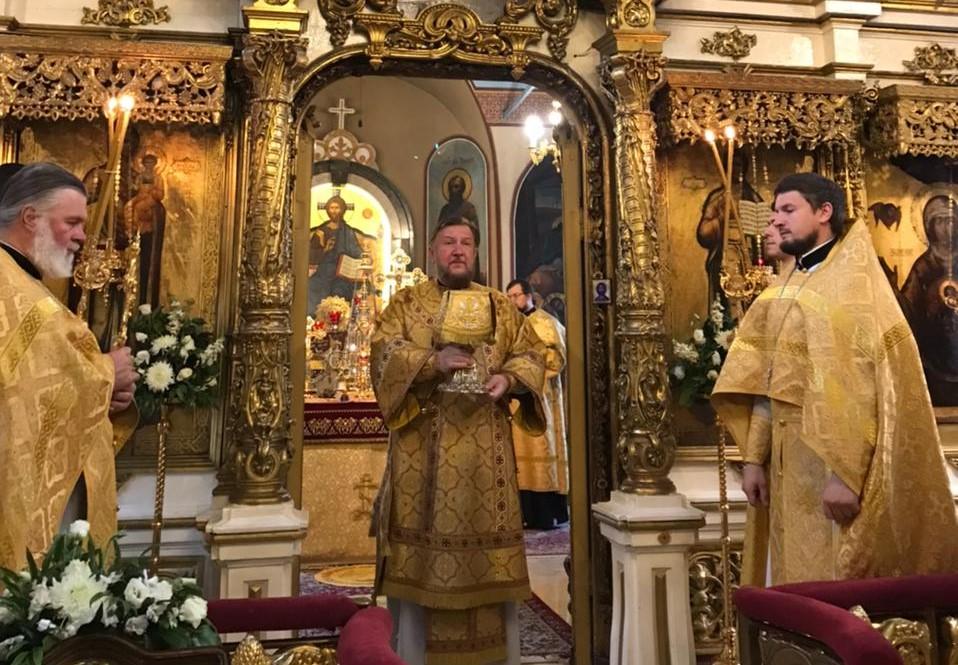 Света Литургија у четрнаесту Недељу по Духовима