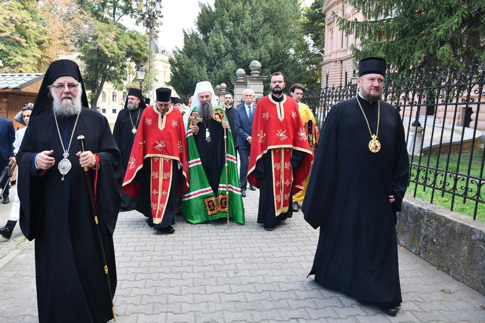 Патријарх српски Порфирије посетио Сремске Карловце
