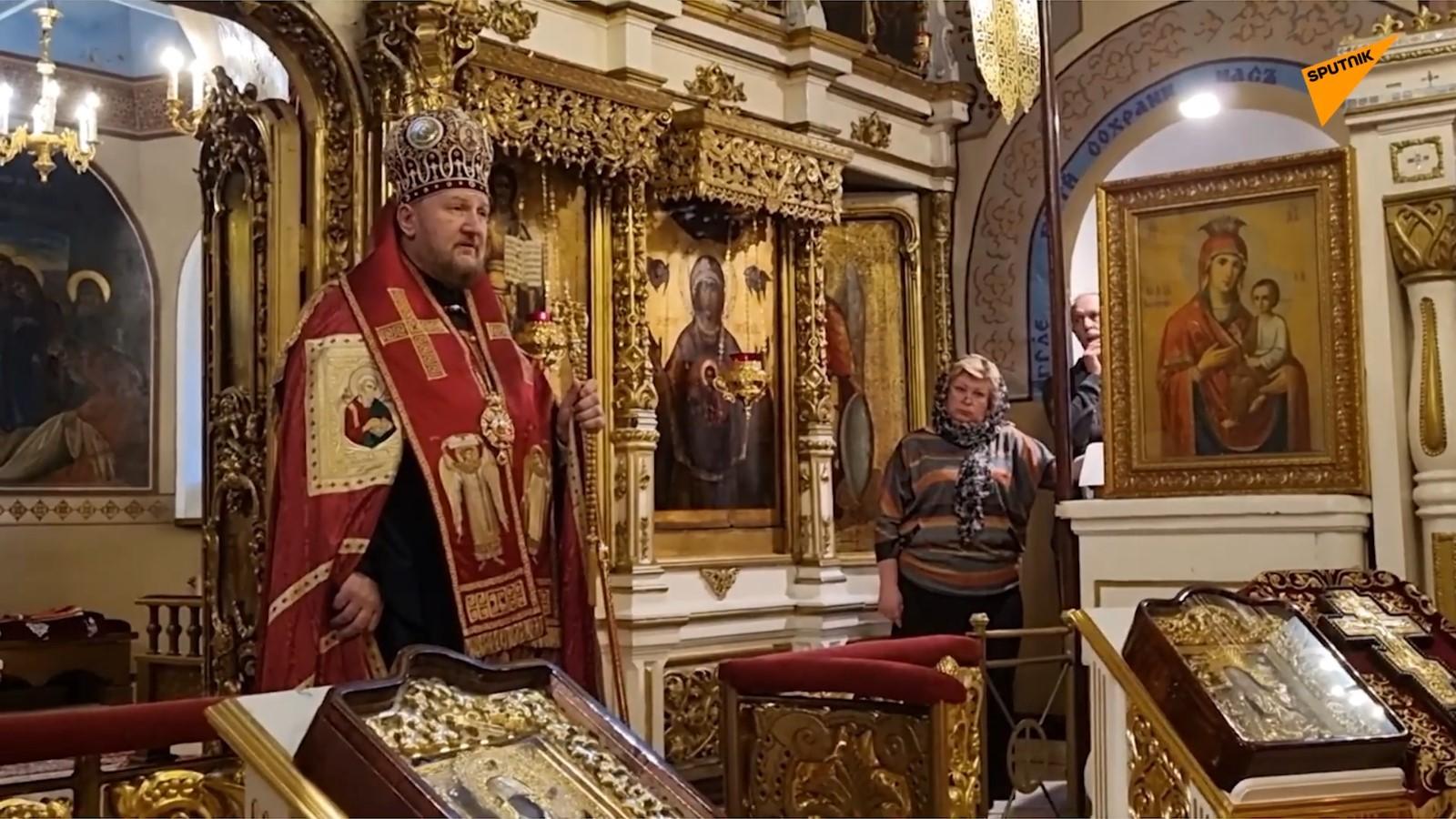 Помен Мирославу Лазанском у Подворју СПЦ у Москви