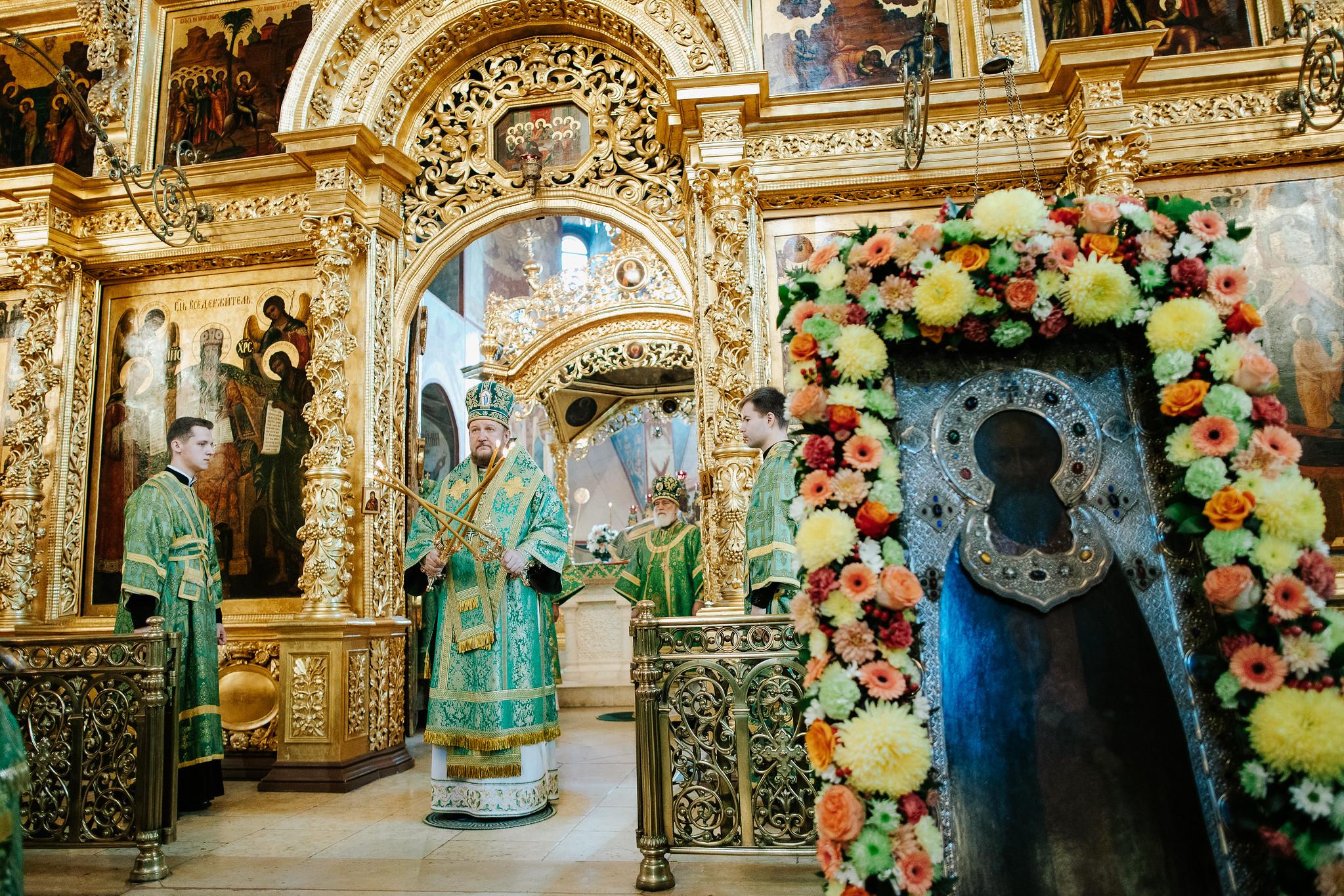 Празник Преподобног Сергија Радоњешког у Тројице-Сергијевој лаври