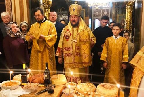 Света Литургија на празник Светог Николаја Чудотоворца (19.12.2019)