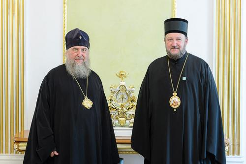 Сусрет са Митрополитом казахстанским Александром (11.10.2018)