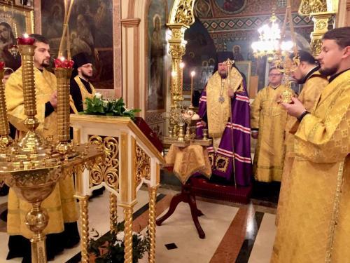 Празнично вечерње уочи Светог Николаја Чудотворца (18.12.2018)