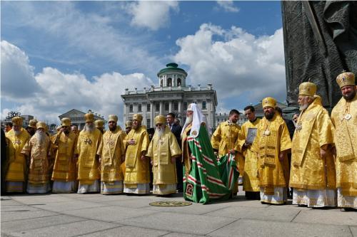 Патријарашка Литургија на празник Светог кнеза Владимира (28.07.2019)