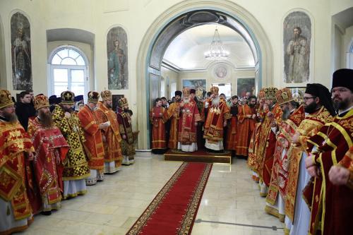 Патријарашка Литургија на Подворју Америчке православне цркве (07.12.2019)