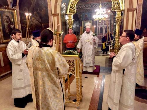 Свети архиђакон Стефан - бденије (08.01.2019)
