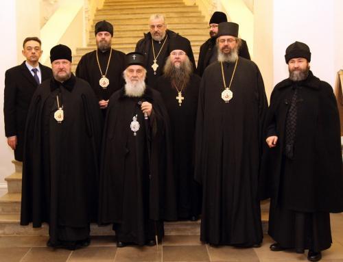 Посета Патријарха Иринеја Новојерусалимском манастиру (30.01.2019)
