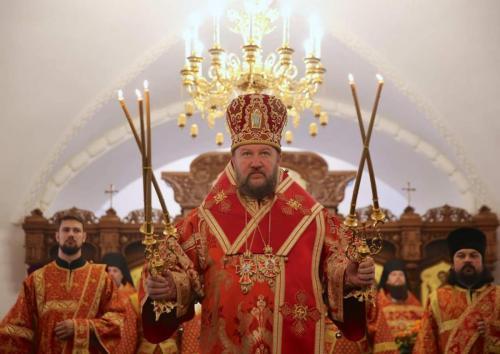 Света Литургија у кућном храму Руског православног универзитета (21.05.2019)