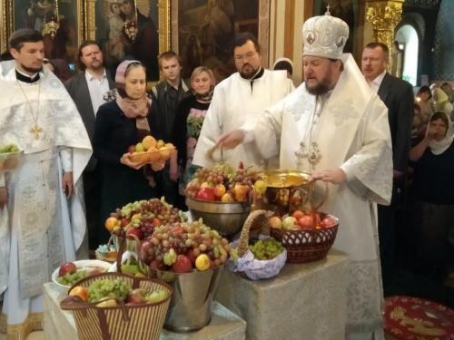 Света Литургија на празник Преображења Господњег (19.08.2019)