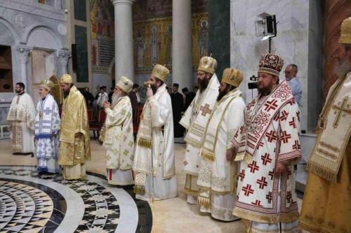 Патријарашка Литургија у Храму Светог Саве у Београду (24.05.2021)
