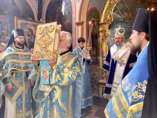 Литургија на празник Богољубске иконе Пресвете Богородице (01.07.2019)