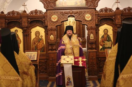 Божићни пријем на Руском православном универзитету (14.01.2020)