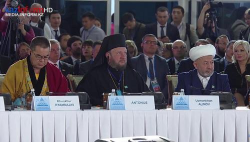 Први дан форума у Астани у Казахстану (10.10.2018)