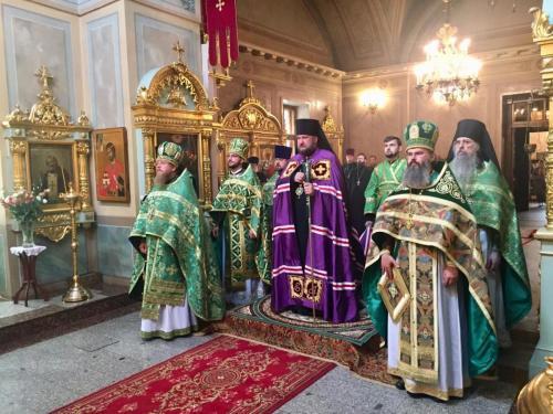 Света Литургија на Чешком подворју у Москви (01.08.2019)