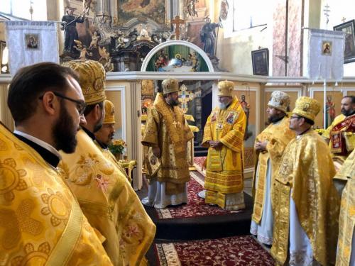 Света Литургија у граду Тахов у Чешкој (28.10.2019)