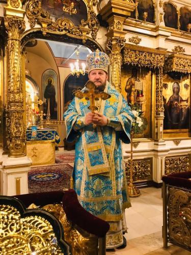 Литургија на празник Светог Александра Невског (06.12.2019)