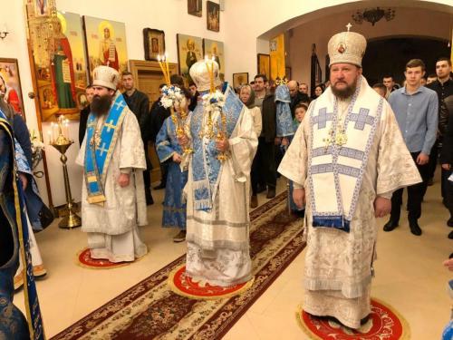 Литургија у манастиру Светих Вјачеслава и Људмиле у Чешкој (22.12.2019)