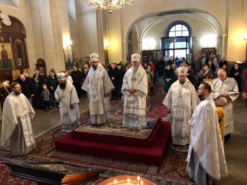 Празник Светог Спиридона Тримитунског у Прагу (25.12.2019)