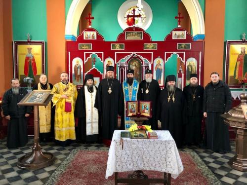 Молебан и освећење конака у манастиру Св. Кирила и Методија у Прагу (21.12.2019)
