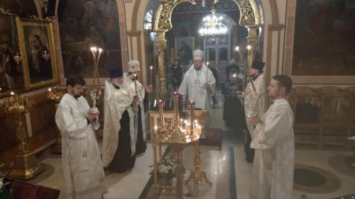 Бденије уочи празника Светог архиђакона Стефана (08.01.2020)