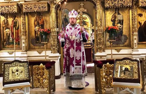 Литургија на празник Светог Теодора Тирона (07.03.2020)