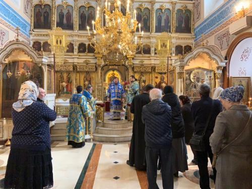 Света Литургија у 5. недељу Великог поста (05.04.2020)