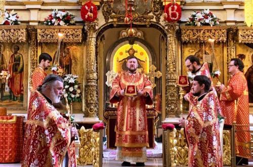 Света Литургија у понедељак светле седмице (20.04.2020)