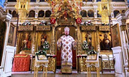 Света Литургија у петак светле седмице (24.04.2020)