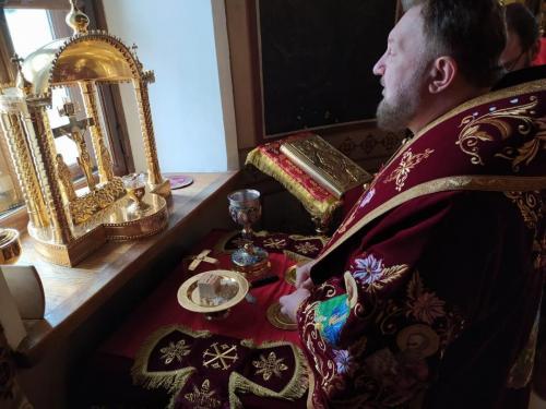 Света Литургија у среду 22. априла 2020. године