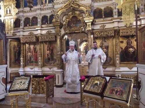 Света Литургија у седму Недељу по Васкрсу (31.06.2020)