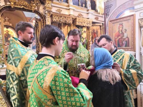 Света Литургија на празник Силаска Светог Духа на апостоле (07.06.2020)