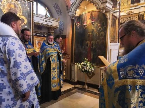 Бденије уочи празника Богољубске иконе Пресвете Богородице (30.06.2020)
