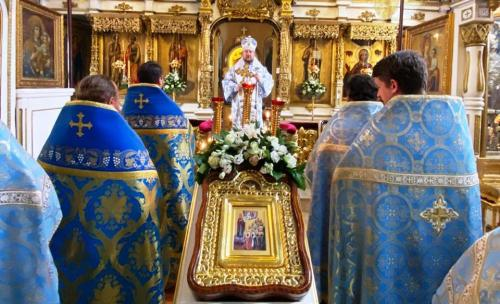 Празник Богољубске иконе Пресвете Богородице (01.07.2020)