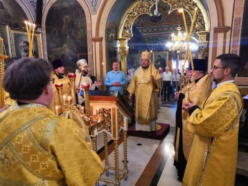 Бденије уочи празник Светих апостола Петра и Павла (11.07.2020)